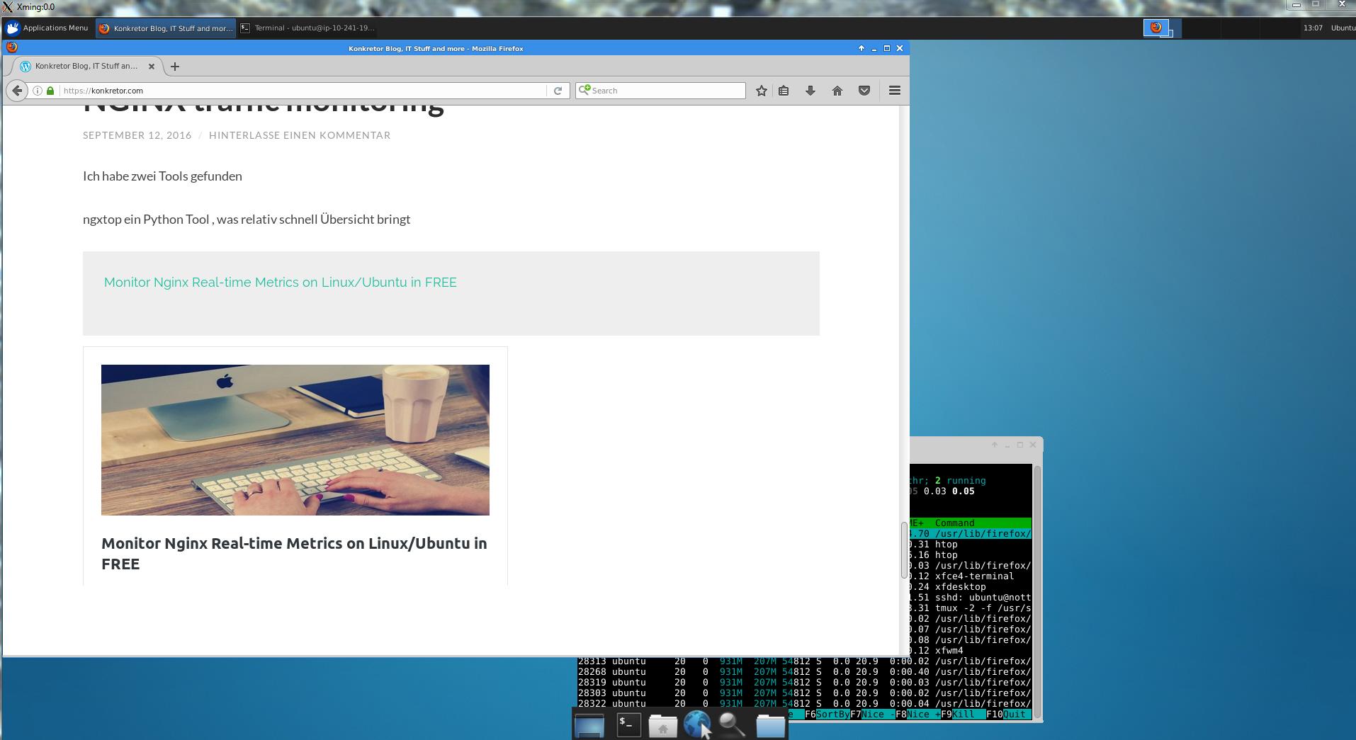 xming start xubuntu desktop | Konkretor Blog, IT Stuff and more